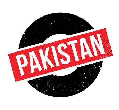 Pakistan rubber stamp