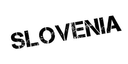 Slovenia rubber stamp Stock Vector - 86259129
