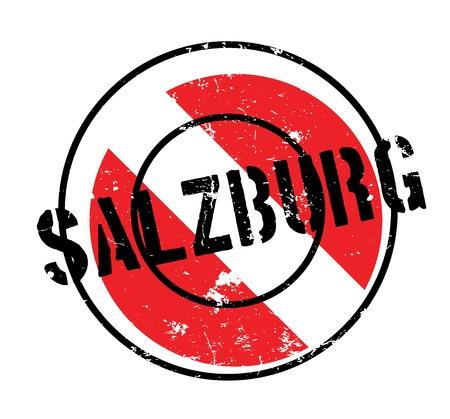 Salzburg rubber stamp Illustration