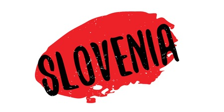 Slovenia rubber stamp Stock Vector - 86259209