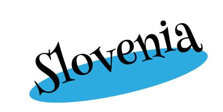 Slovenia rubber stamp Stock Vector - 86259211