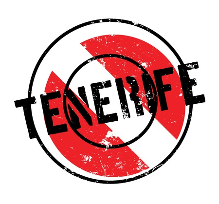 Tenerife rubber stamp