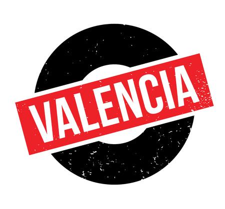 Valencia rubber stamp