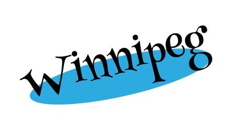 Winnipeg rubber stamp