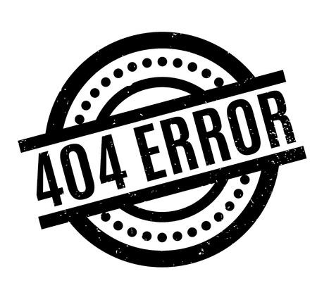 404 エラー スタンプ。ほこり傷とグランジ デザイン。効果は、クリーンでさわやかな一見のために簡単に削除できます。色が簡単に変更されます。