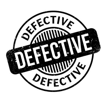 Defective rubber stamp 矢量图像