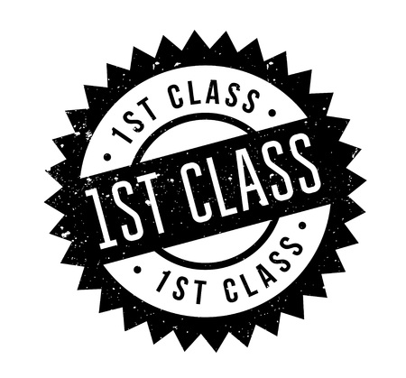 mailed: 1St Class rubber stamp