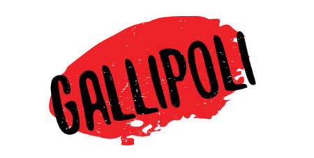 Gallipoli rubber stamp