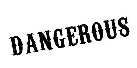 Dangerous rubber stamp