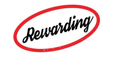 Rewarding rubber stamp