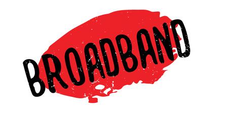 Broadband rubber stamp