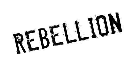 Rebellion rubber stamp Иллюстрация