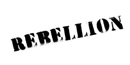 Rebellion rubber stamp Ilustração