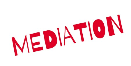 Mediation rubber stamp