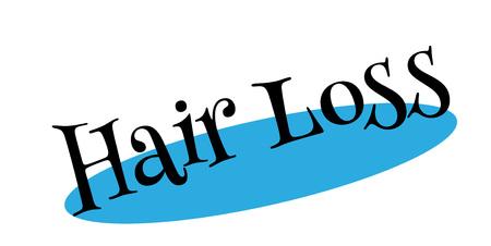 Haarverlies rubberzegel
