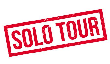 Solo Tour rubber stamp