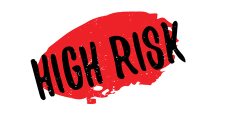 High Risk rubber stamp Illustration