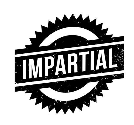 Impartial rubber stamp Illustration
