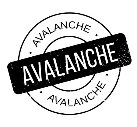 Avalanche rubber stamp