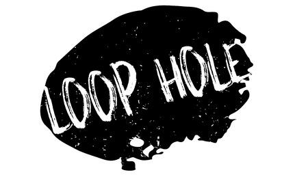 루프 구멍 도장