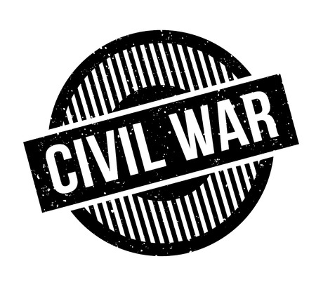Civil War rubber stamp 版權商用圖片 - 86802508