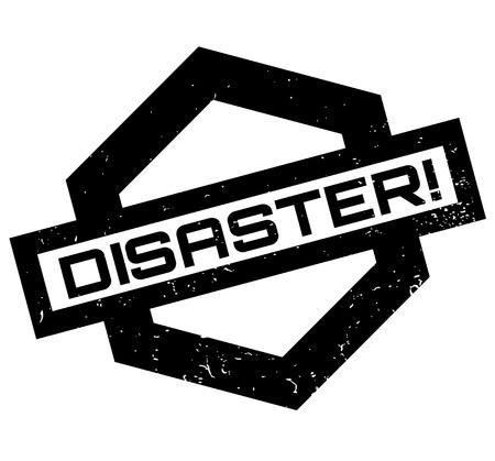 Disaster rubber stamp Illustration