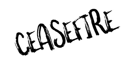 ceased: Ceasefire rubber stamp