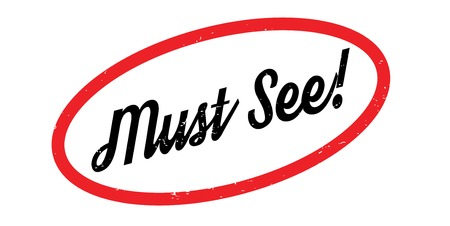 Must See rubber stamp Çizim