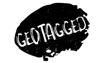 Geotagged rubber stamp