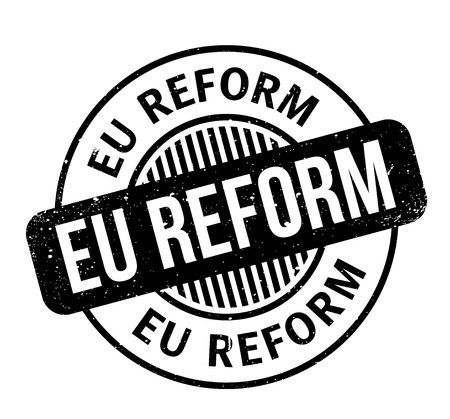 Eu Reform rubber stamp