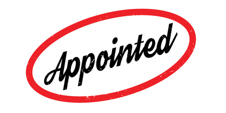 Appointed rubber stamp Illustration