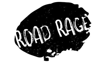 Road Rage rubberen stempel