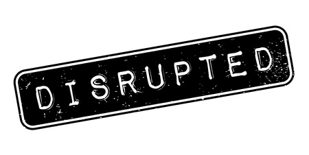 Disrupted rubber stamp