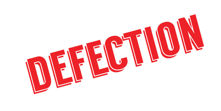 Defection rubber stamp