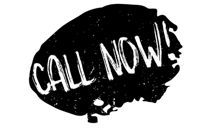 Call Now rubber stamp
