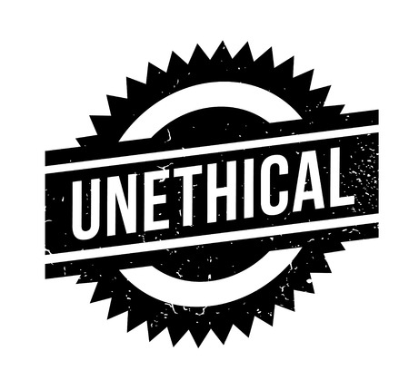 Unethical rubber stamp