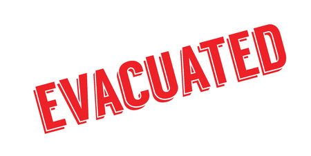 Evacuated rubber stamp Stock Photo