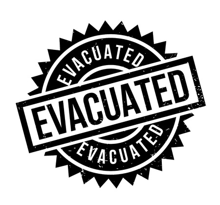 Evacuated rubber stamp Ilustração