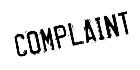 Complaint rubber stamp
