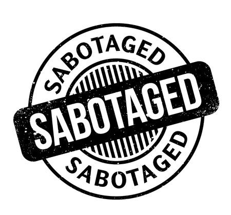 breaking law: Sabotaged rubber stamp