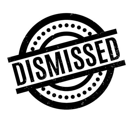 unoccupied: Dismissed rubber stamp