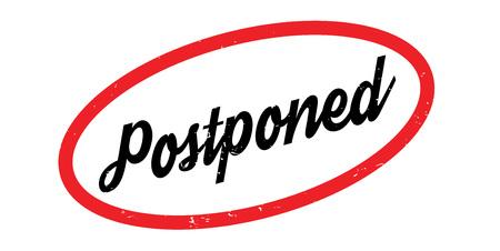 Postponed rubber stamp