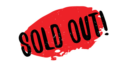 e shop: Sold Out rubber stamp