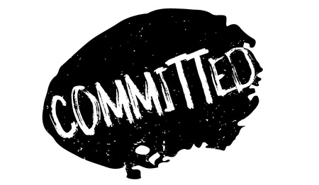Committed rubber stamp