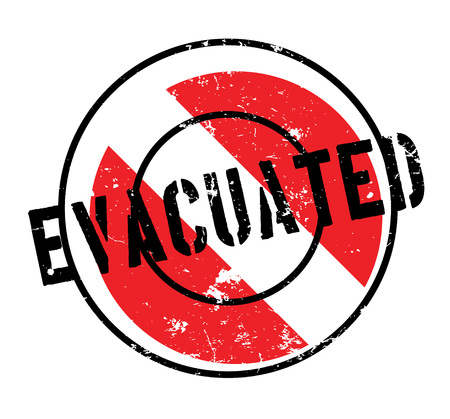 Evacuated rubber stamp Illustration