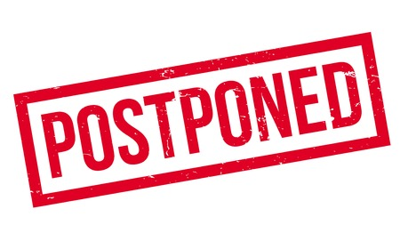 Postponed rubber stamp