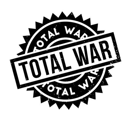 Total War rubber stamp Illustration