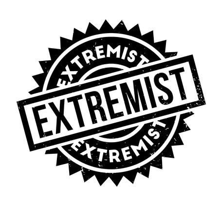 Extremist rubber stamp Banco de Imagens - 87046884