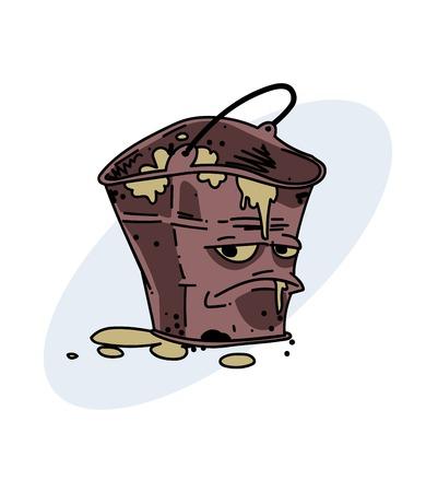Grumpy dirty bucket
