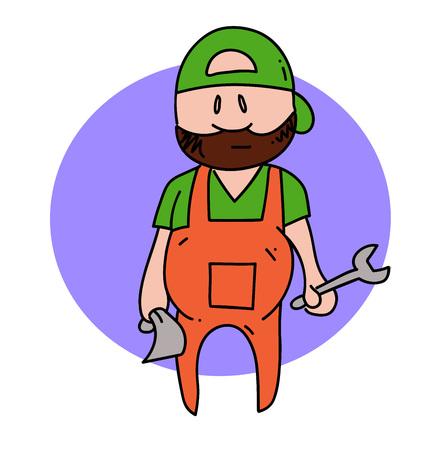 Mechanic guy Çizim